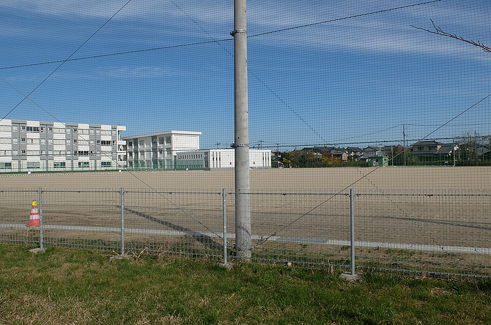 現在の新津第一中学校-3